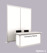 Example of Table Top Display Booth (Click to enlarge)